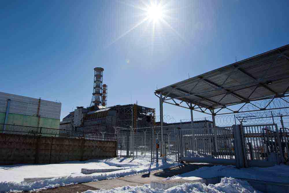 Block 4, Chernobyl Nuclear Power Plant visit