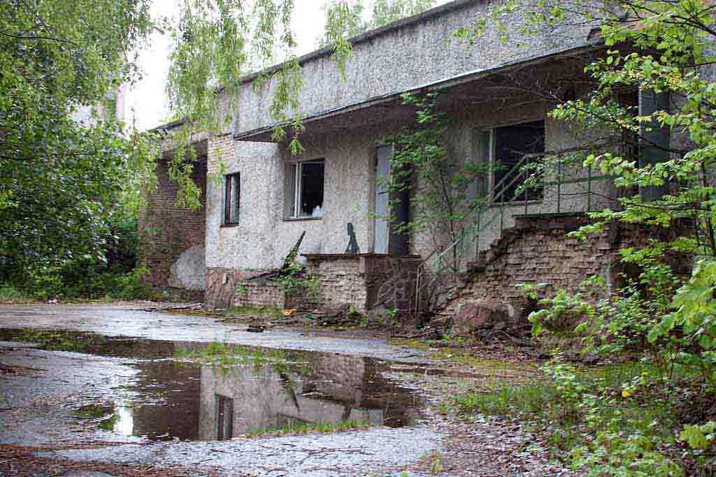 visit Ghost town of Pripyat